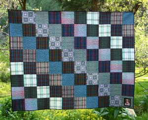 Mad About Plaid 187 Custommemorialquilts Com
