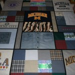 Combining T-shirts and Sweatshirts in a Memorial Quilt