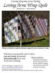 YOU Can Make a Loving Arms Wrap Quilt
